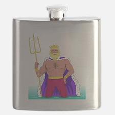 King Neptune Flask