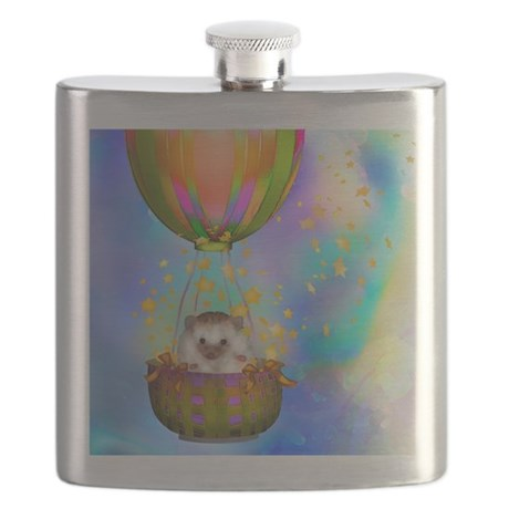 """Up up and Away"" Flask"