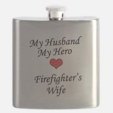 Firefighter's Wife Flask