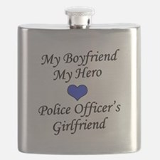 Police Officer's Girlfriend Flask