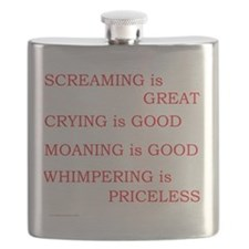Priceless Whimpering Flask