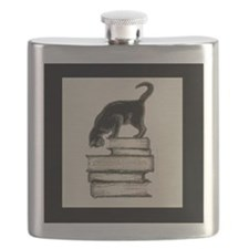Deluxe Bookplate Cat on Books