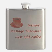 Instant Massage Therapist Flask