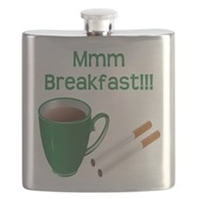 Coffee and Cigarettes Flask