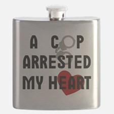 Cop Arrested Flask