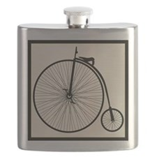 Penny Farthing Flask