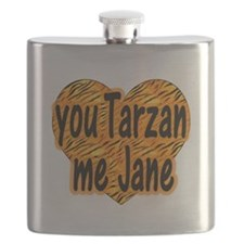 You Tarzan Me Jane Flask