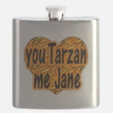 You Tarzan Me Jane Flask