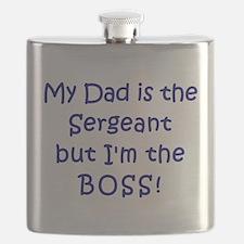 Sergeant Boss Flask