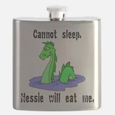 Nessie Will Eat Me Flask