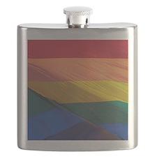 Gay Pride Rainbow Flag Flask
