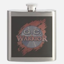 """""""Q.C. Warrior"""" Flask"""
