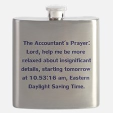 Accountant's Prayer Flask