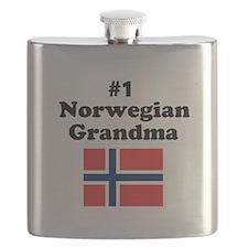 #1 Norwegian Grandma Flask