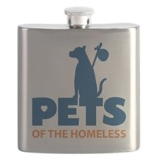 Cute Homeless pets Flask