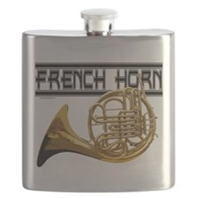 French Horn Flask
