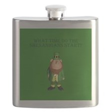 Irish Flag Leprechaun shenanigans Flask