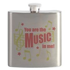 You Are The Music In Me Flask