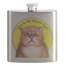 Happy Face Flask