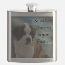 St. Bernard Puppy Flask