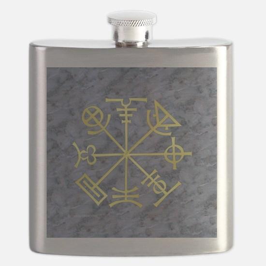 Stone Mason Symbology - Flask