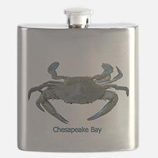 Chesapeake Bay Blue Crab Flask