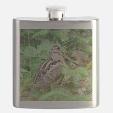 Female Woodcock Flask