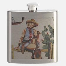 Trudy's cowgirls Flask