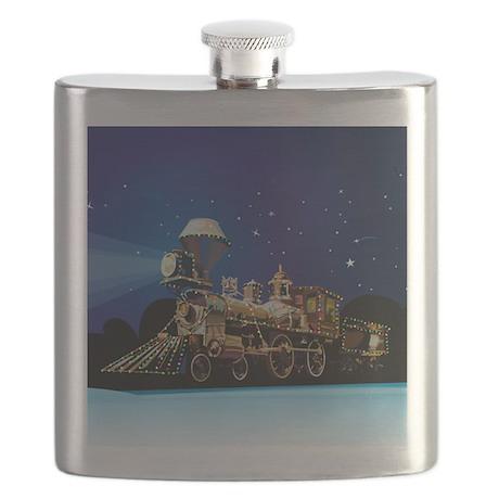 Christmas Train Flask