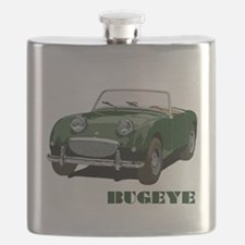 Green Bugeye Flask