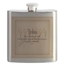 Yeshua Acts 4:12 Flask