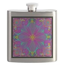 Psychedelic Kaleidoscope Design Flask