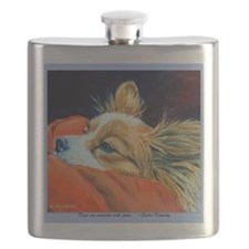 Papillon Sleepy Head Flask