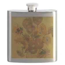 Van Gogh: 15 Sunflowers Flask