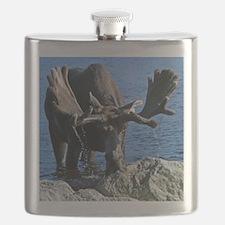 Bull in velvet Flask