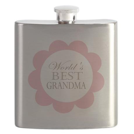 World's Best Grandma Flask