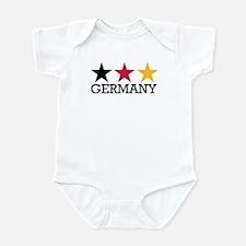 Germany stars flag Infant Bodysuit
