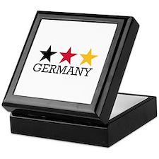 Germany stars flag Keepsake Box
