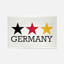 Germany stars flag Rectangle Magnet