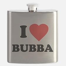 I Love Bubba Flask