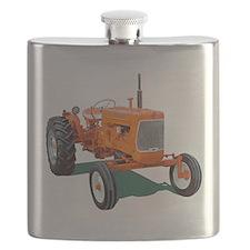 Unique Chalmers grandpa agriculture Flask