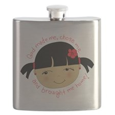 God Brought Me Home Flask