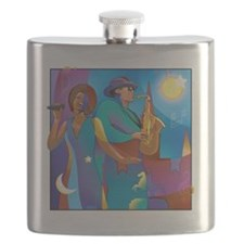 New Orleans French Quarter Flask