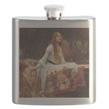 Lady of Shalott Flask
