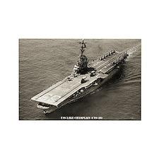 USS LAKE CHAMPLAIN Rectangle Magnet