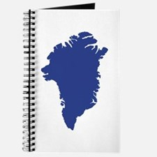 Greenland map Journal