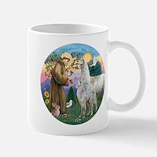 Saint Francis with Llama Mama & Baby Mug