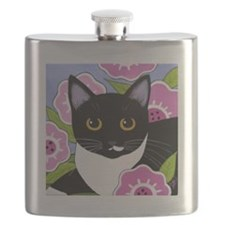 SASSY Black and Tuxedo CAT Adult can cooler