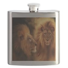 Cute Lion Flask
