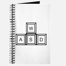 WASD keys Gaming Journal